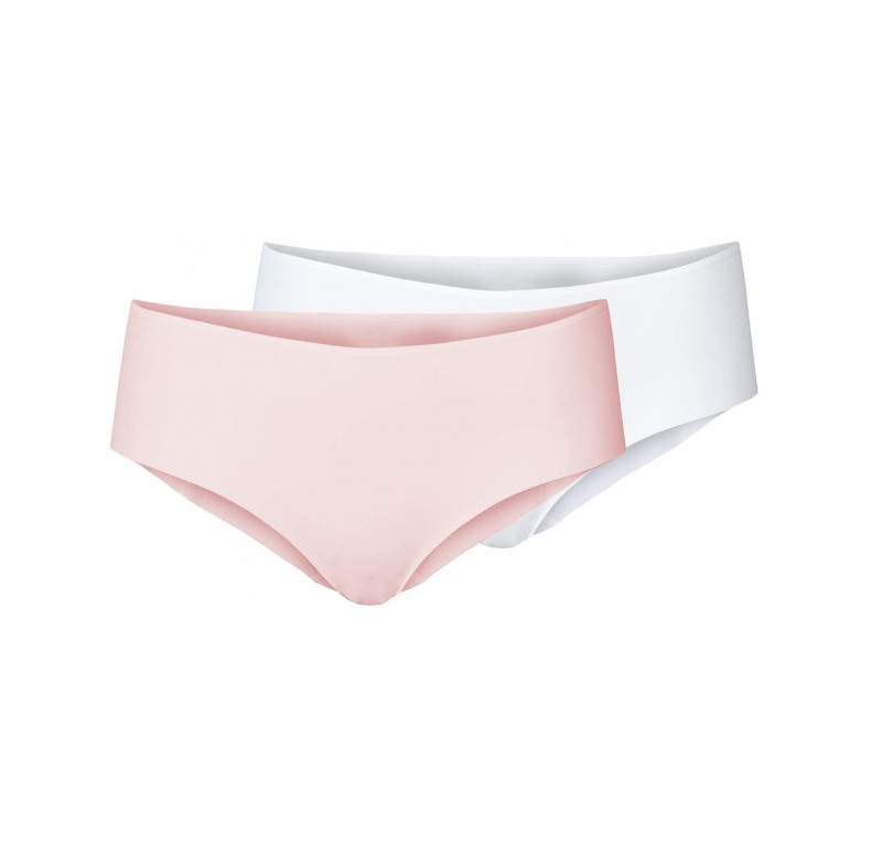 "Lot de shorty ""THE INVISIBLES"" ODLO 130321 Blanc/Lotus"