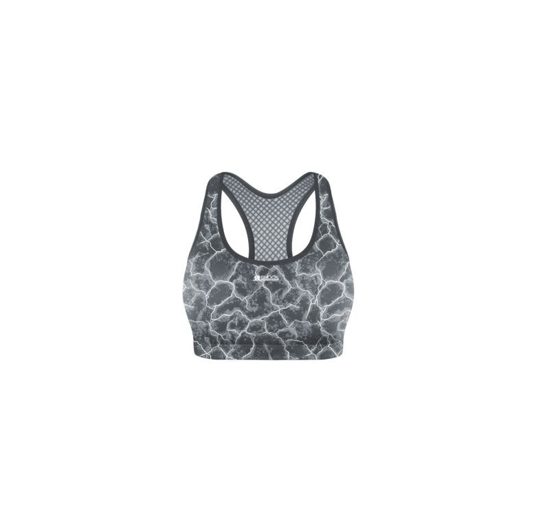 Shock Absorber Crop Top S04N0 Imprimé Asphalte