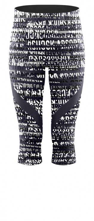 Legging court Shock Absorber S066C Print logo